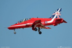 HAWK T1A, 312103/103, XX278, RED ARROWS, LFLL 16/04/2014