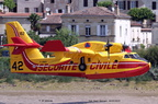 CL415, 2024, F-ZBEU, SECURITE CIVILE, Isle-Saint-Georges 26/07/2015