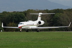G550, 5320, A40-AD, ROYAL FLIGHT OF OMAN, LSGG 15/10/2014