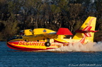 CL415, 2063, F-ZBMF, SECURITE CIVILE, Rochemaure 18/03/2014