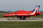 HAWK T1W, 312135/145, XX310, RED ARROWS, LFLL 31/03/2014
