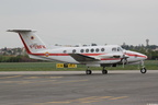 BEECH B200, BB-876, F-ZBFK, SECURITE CIVILE, LFLY 26/04/2012
